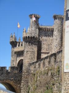 The 12th Century Templar Castle - Castillo de Los Templarios.