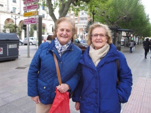 Two beautiful sisters of Burgos.