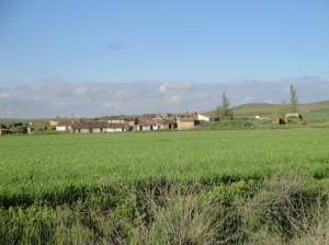 The Meseta offers so many beautiful scenes.