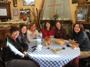 Nancy, Andrea, Monse, Celina, Liz, and Heike