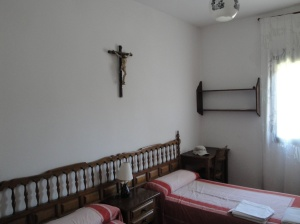 My room in the Monastery in Sahagun.