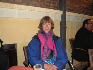 Britta from Denmark walking her 3rd Camino!