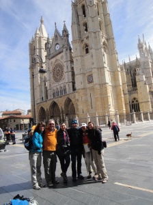 Camino friends continuing to meet along the way.