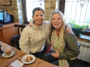 Two beautiful ladies from Glascow, Scotland. Avril and her mother Sharon.