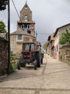 Our destination today. Rabanal del Camino.