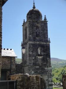 Very old Romanesque Church as we enter Triacastela