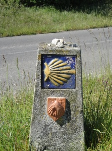 The waymarkers and yellow arrows keeping us on the Camino are nothing short of outstanding.