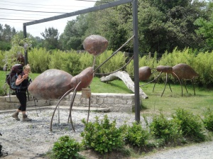 The ants are really big in rural Spain.