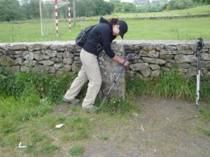 "I think Andrea's over the Camino.  She keeps asking, ""Dad, why are we doing this?"""