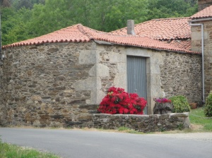 Galician home in the country.