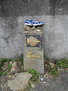 Then I found the matching pair about an hour later on the Camino!  The Camino truly has a sense of humor!