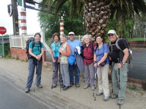 Meeting my uncle and aunt on the Camino. Should we really be surprised by now?