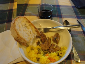 Food is still really good and plentiful on the Camino.