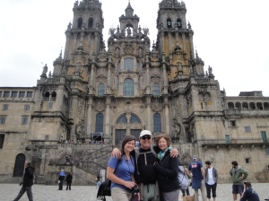 We made it to Santiago!