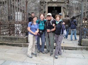 We accomplished this pilgrimage as a team and as a family. Buen Camino!