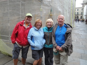 Our Canadian Camino friends who we kept running into along the way. Wayne, I'll be watching your Maple Leafs next year!