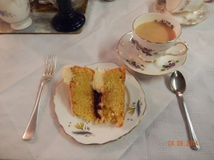 Victorian Sandwich and Tea in Ludlow, England