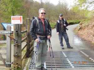 Carl and I at the LLandberis path trailhead of Mt. Snowdon.